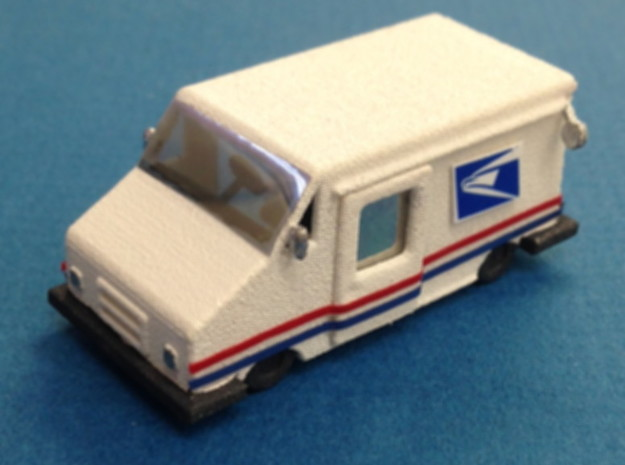 USPS Mail Delivery Truck