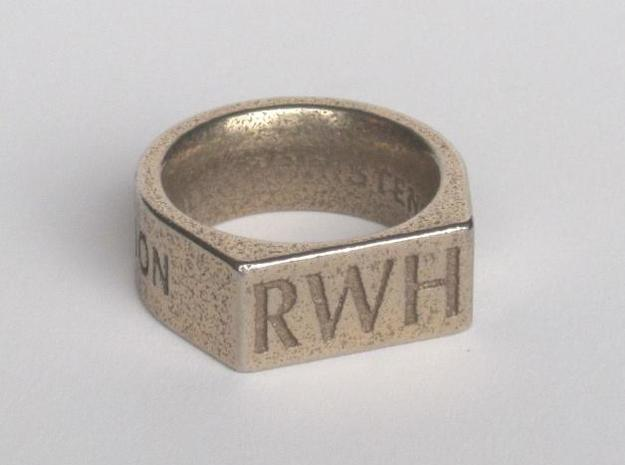 Return With Honor ring in Stainless Steel