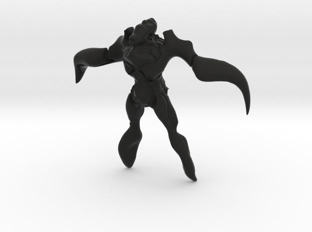 WINGMAN in Black Natural Versatile Plastic: 1:12