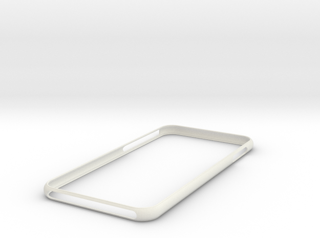 IPhone 8 +Plus   Bumper    NEW  ! in White Strong & Flexible