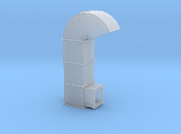 HO Scale Ventilation Duct in Smooth Fine Detail Plastic