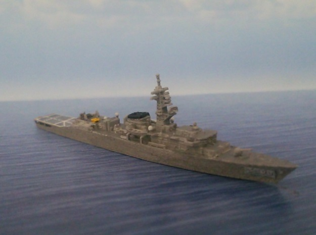 1/2000 Training ship JS Kashima in Smooth Fine Detail Plastic