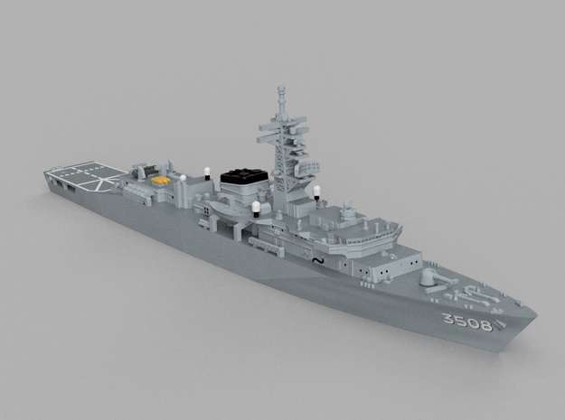 1/1800 Training ship JS Kashima in Smooth Fine Detail Plastic