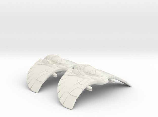 Goa'uld Armored Flight: 1/270 scale in White Strong & Flexible