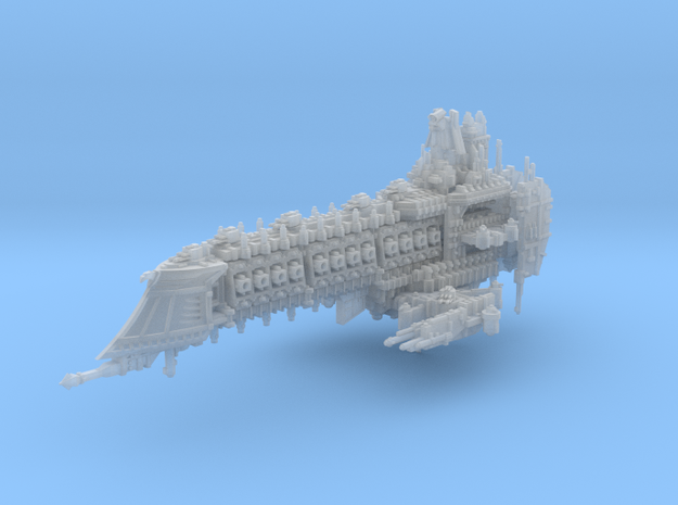 Retributor Battleship in Smooth Fine Detail Plastic