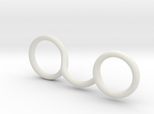 RIng splint for megan  in White Natural Versatile Plastic