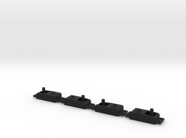 Dummy Servo V2 4-Pack in Black Natural Versatile Plastic