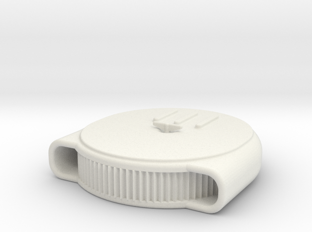 1/24 Scale Chestnut Air Cleaner Exposed in White Natural Versatile Plastic