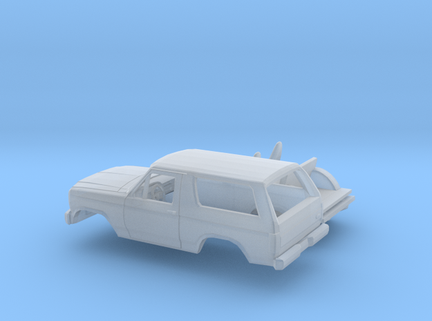 1/160 1979-86 Ford Bronco Kit in Smooth Fine Detail Plastic