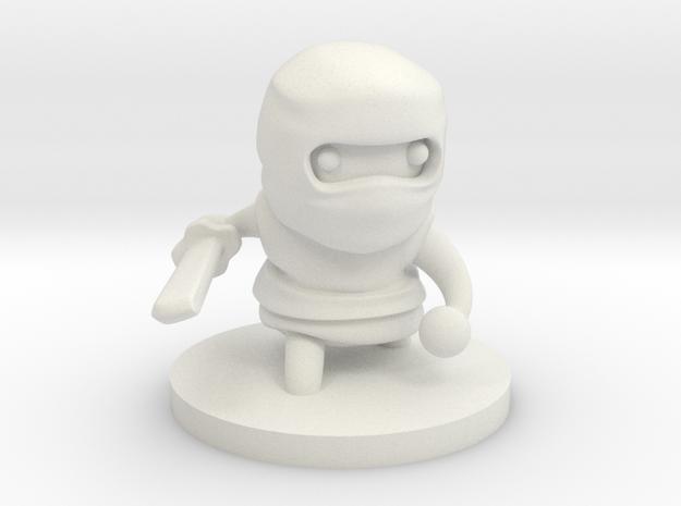 Ninja in White Strong & Flexible