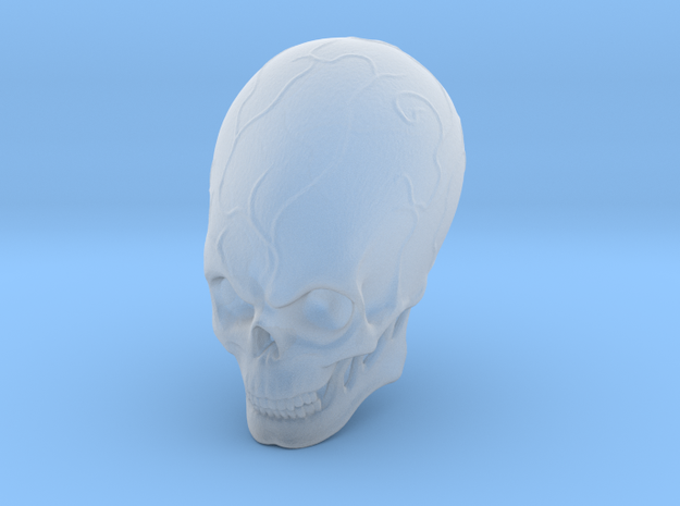 Elebrian skull  in Frosted Extreme Detail