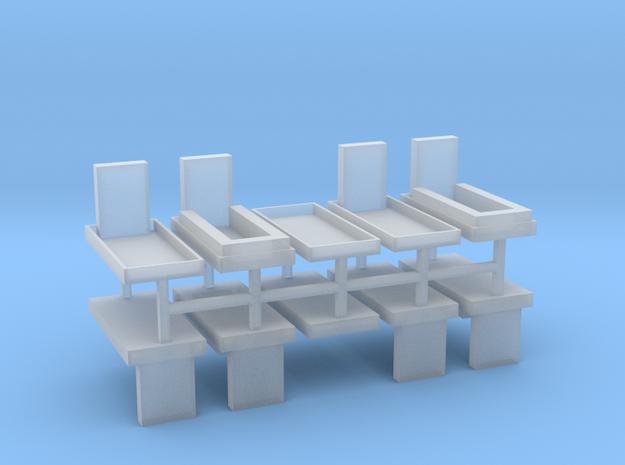 Gräber Set1 10erSet - 1:76 in Smooth Fine Detail Plastic