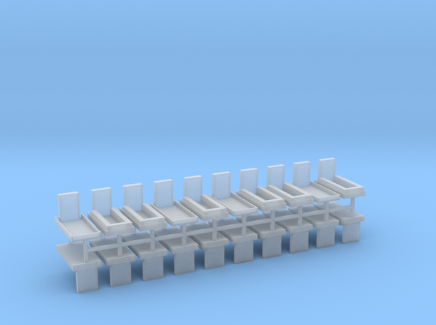 Gräber Set5 20erSet - 1:72 in Smooth Fine Detail Plastic