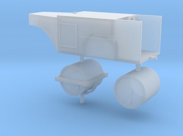 Straßenwalze ohne Verdeck 1:100 in Smooth Fine Detail Plastic