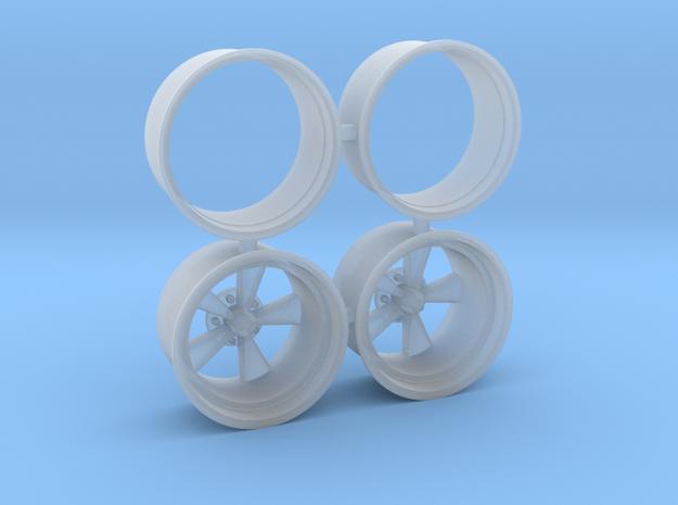 CragarSS 1/18 15x14.5 in Smooth Fine Detail Plastic