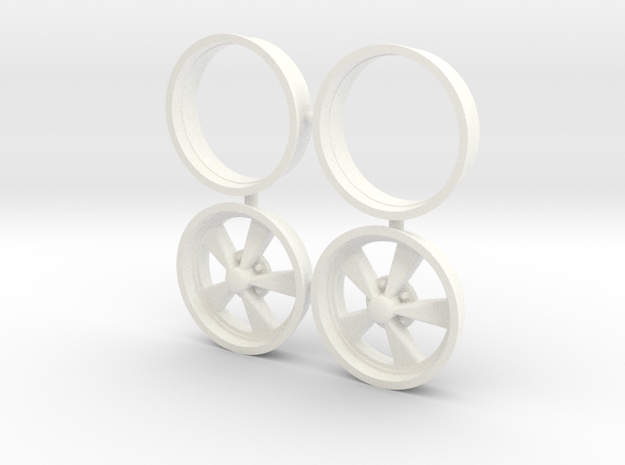 CragarSS 1/8 15x5 in White Processed Versatile Plastic