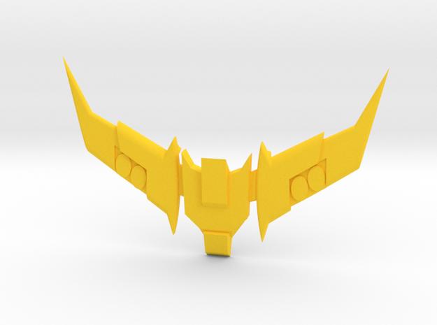 MTMTE Rodimus Spoiler in Yellow Processed Versatile Plastic