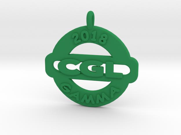 CGL- 2018- GAMMA  in Green Processed Versatile Plastic