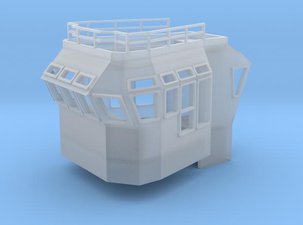 Bridge Superstructure 1/200 fits Harbor Tug  in Smooth Fine Detail Plastic