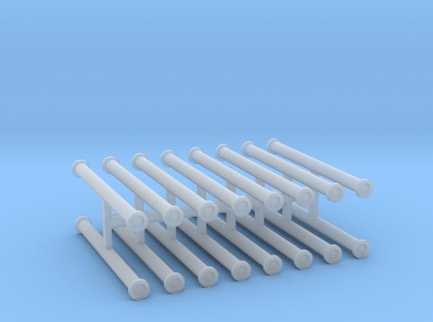 Saugschlauchsatz A 2,5m 4erSet - 1:100 in Smooth Fine Detail Plastic