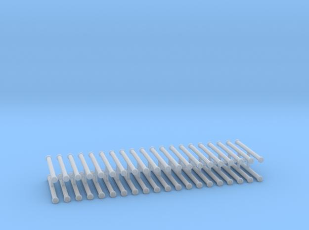 Saugschlauchsatz A 2,5m 10erSet - 1:100 in Smooth Fine Detail Plastic