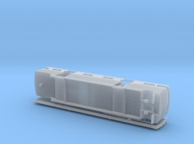 HO 1/87 Horsebox 1988 Streamliner 9 Horsebox in Smooth Fine Detail Plastic