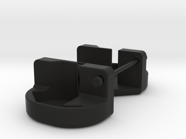 Axial Wraith LED extrusion holder in Black Strong & Flexible