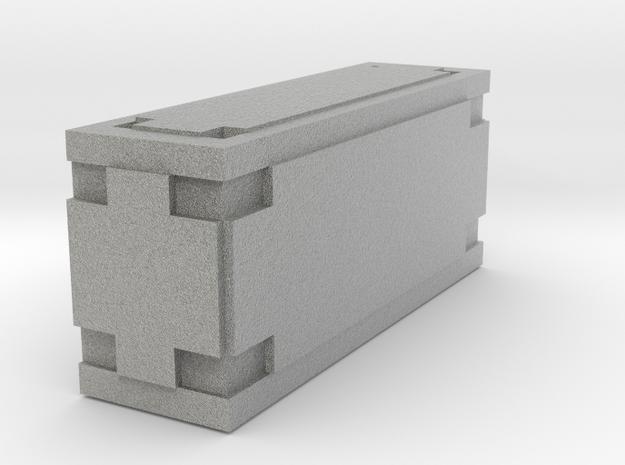 Wookiee Ammo Box (small) in Metallic Plastic