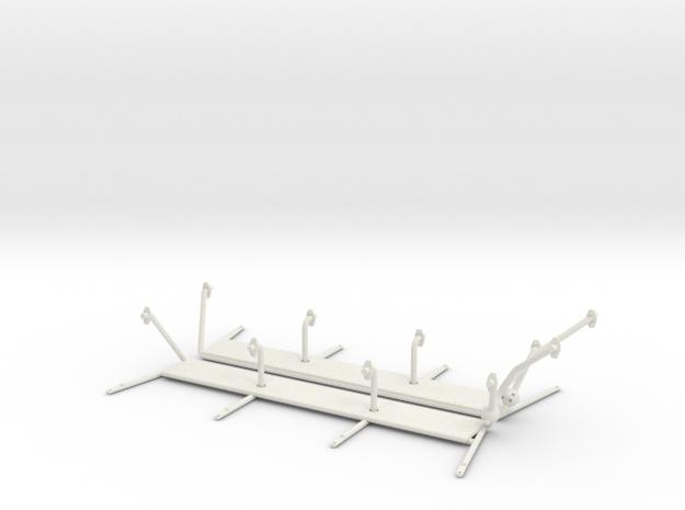 1.8 SUPER PUMA SIDE STEPS X2 in White Natural Versatile Plastic