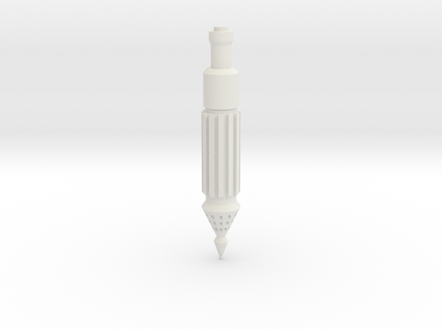MGS - Gauntlet Rocket in White Strong & Flexible