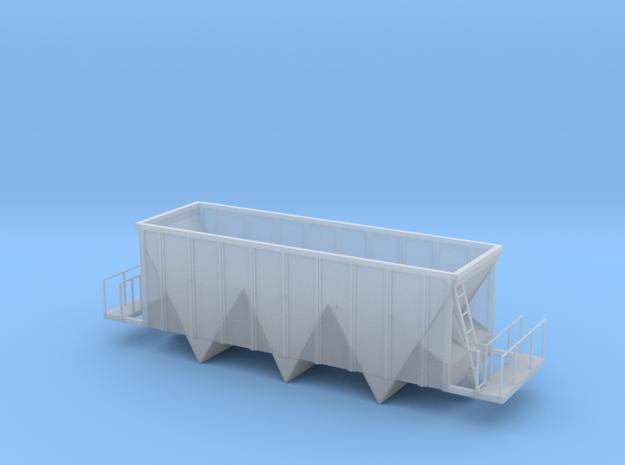 Aggregate Gondola Car - HOscale in Smooth Fine Detail Plastic