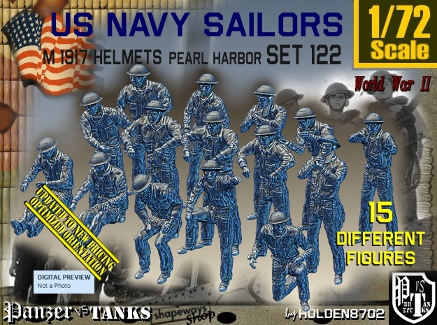 1/72 USN Pearl Harbor Set 122