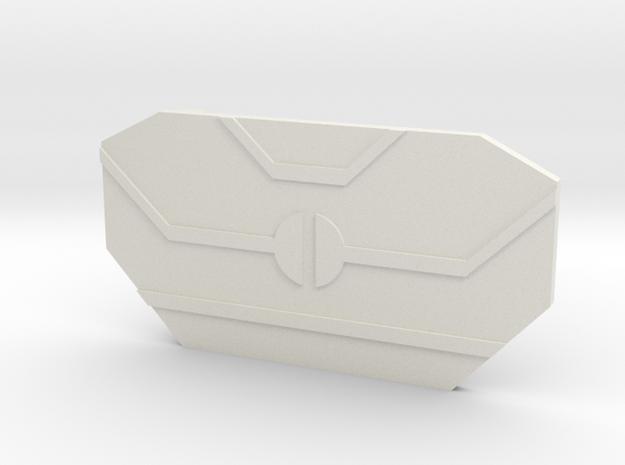 The Apprentice in White Premium Versatile Plastic