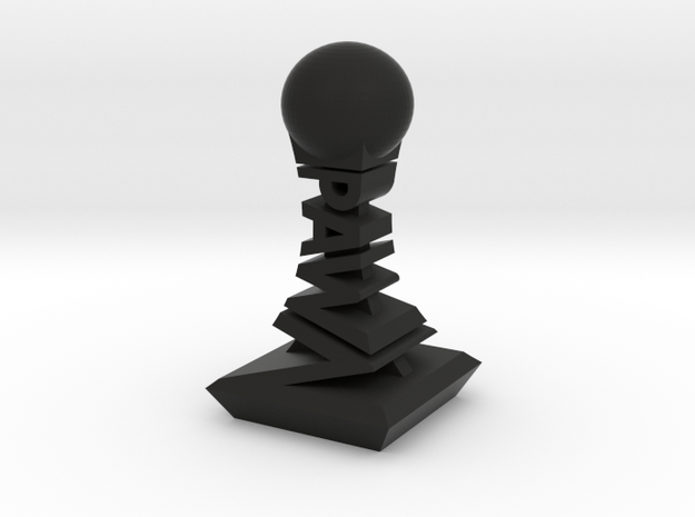 Modern Chess Set - PAWN in Black Strong & Flexible