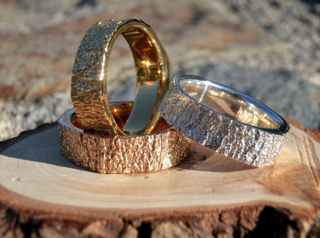 Tree Ring in Polished Bronze: 7 / 54