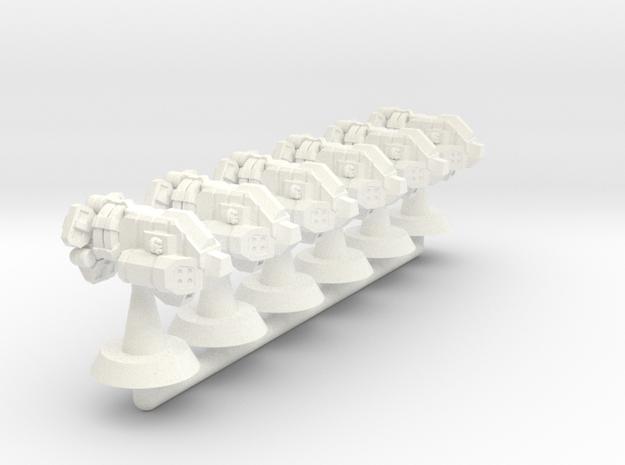 Bison Class Strike Frigate- 1:20000 in White Processed Versatile Plastic