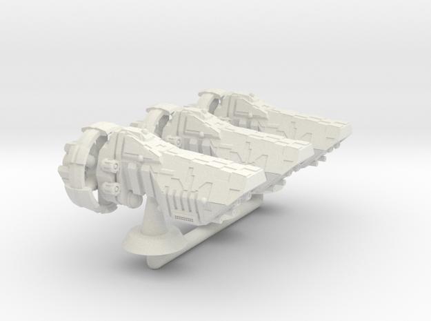 Feral Class Hvy Cruiser - 1:20000 in White Natural Versatile Plastic