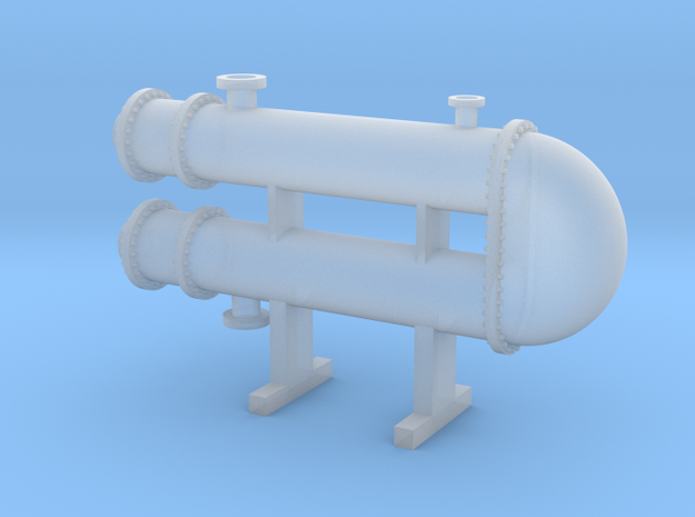 HO Scale Heat Exchanger #3 in Smooth Fine Detail Plastic