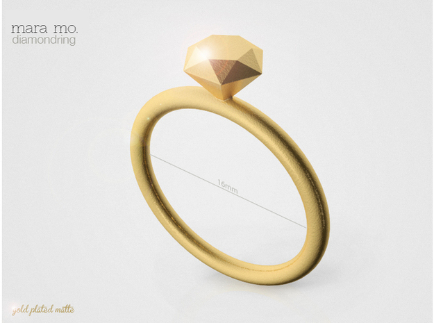 Ring Diamond 16D