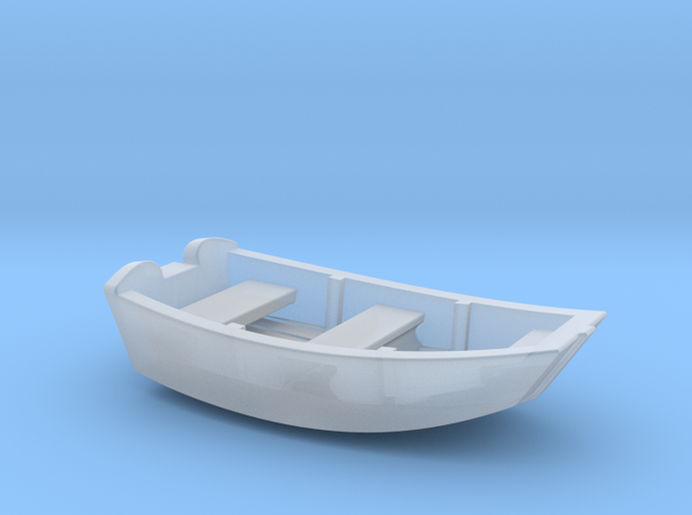 Dinghy Boat S Scale in Frosted Ultra Detail