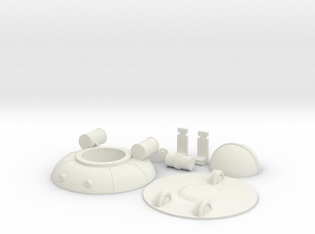 UFO free download in White Natural Versatile Plastic