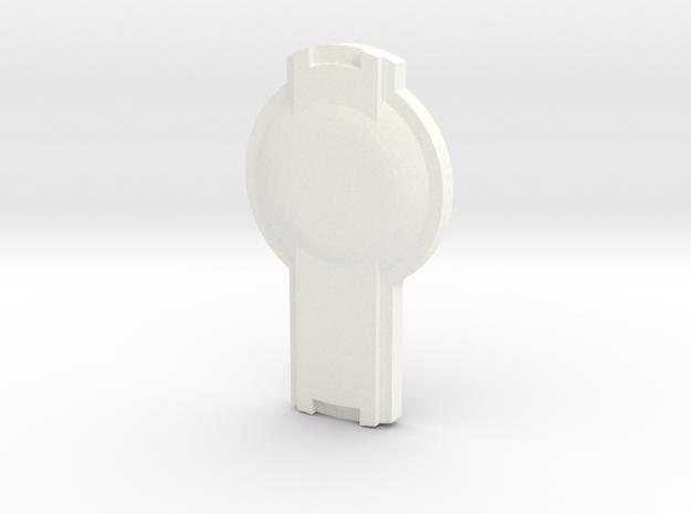 SHIELDR in White Processed Versatile Plastic