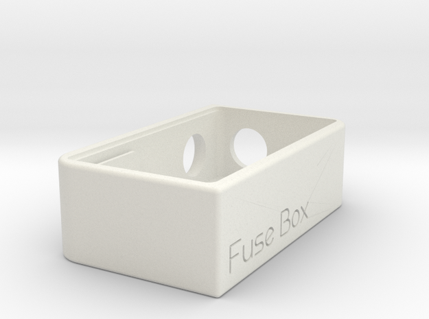 Fuse Box Mechanical Squonker  in White Natural Versatile Plastic