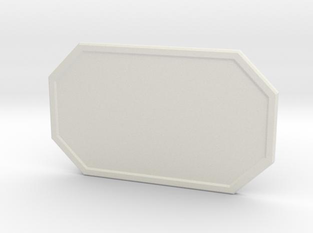 The Galactic Hero in White Premium Versatile Plastic