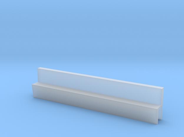 Profil 50mm Waggon-Sitzbank einfach niedrig FUD/FE in Smooth Fine Detail Plastic