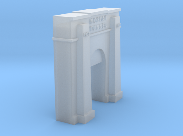 Moffat Tunnel East Portal N Scale in Smooth Fine Detail Plastic