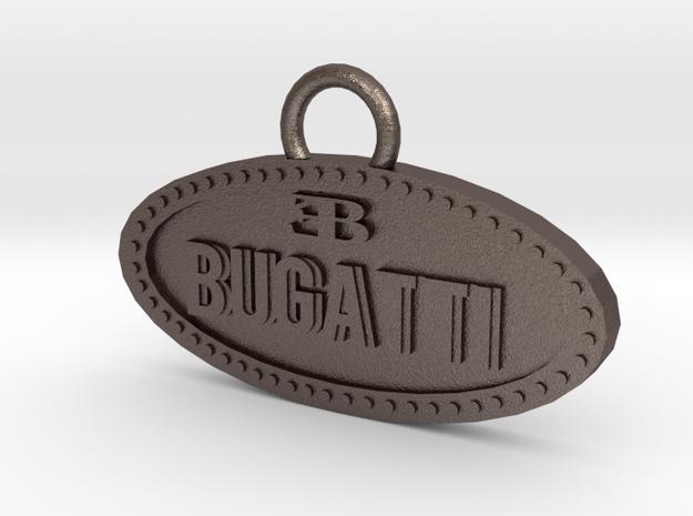 Bugatti keychain in Stainless Steel