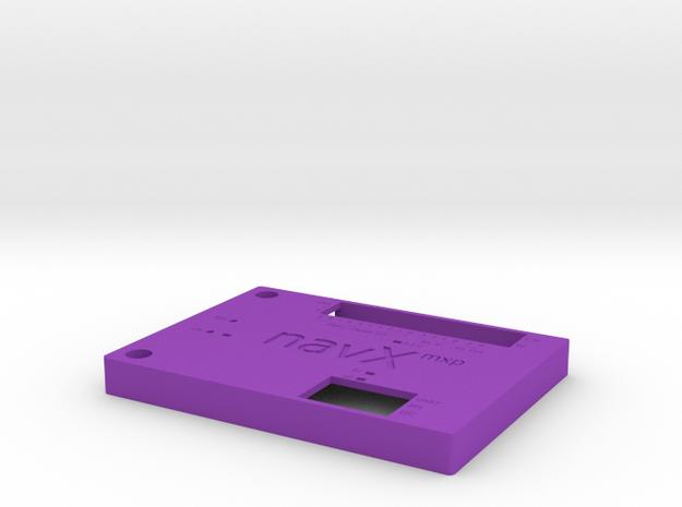 Navx-mxp-roborio-lid V4 Scaleddown in Purple Processed Versatile Plastic
