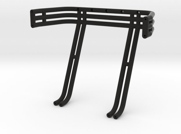 Smitty Triple - Double - Roll Bar in Black Strong & Flexible