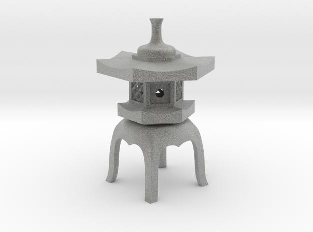Yukimi-doro in Metallic Plastic